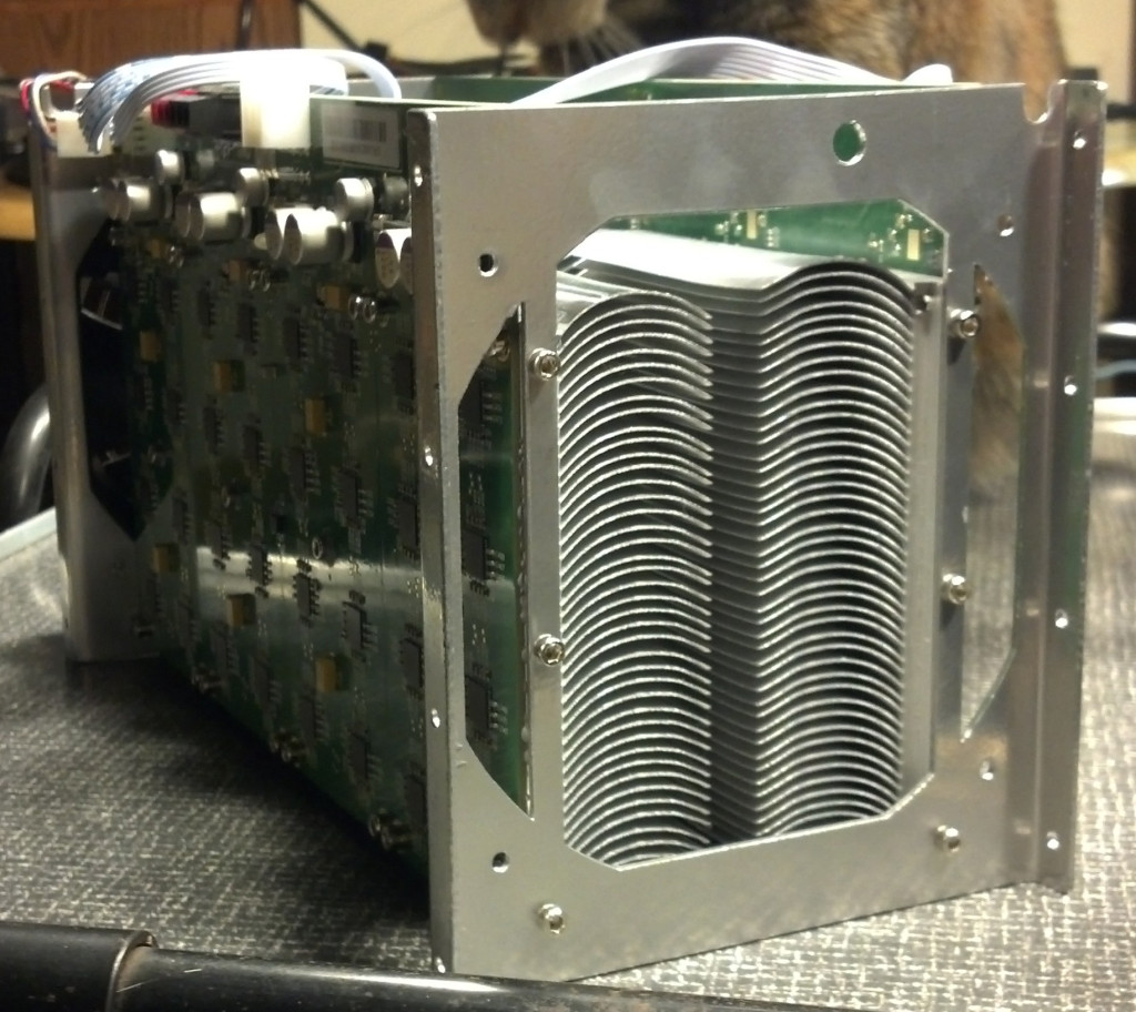 The heatsinks are part of the frame.