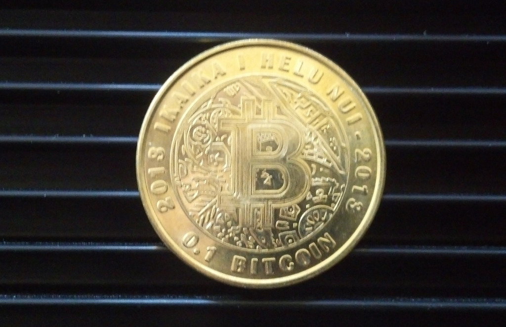 The Lealana brass .1 BTC.